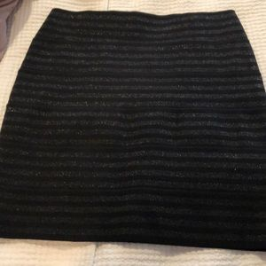 Black with sparkle skirt